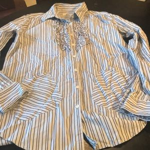 Looks Great Large Jachs Striped Shirt 👍